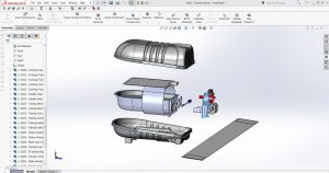 CAD Modeling for Hypocore Biotech device