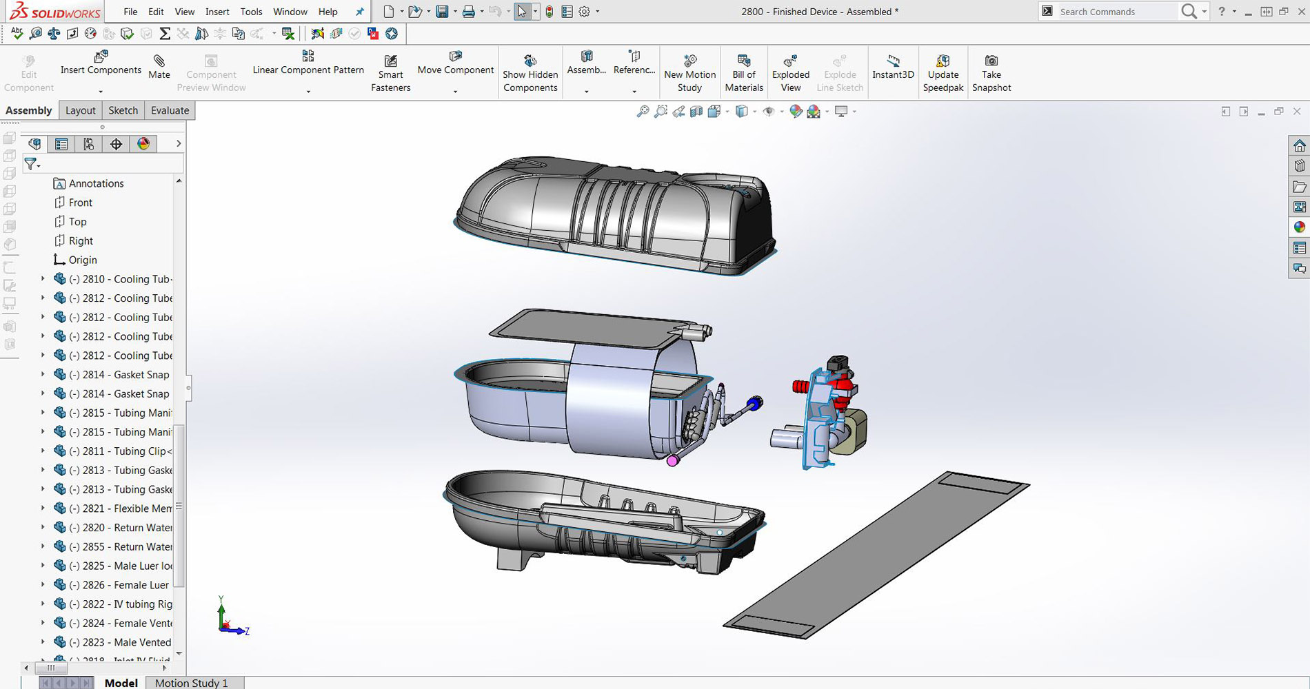CAD Modeling for Hypocore Biotech devices