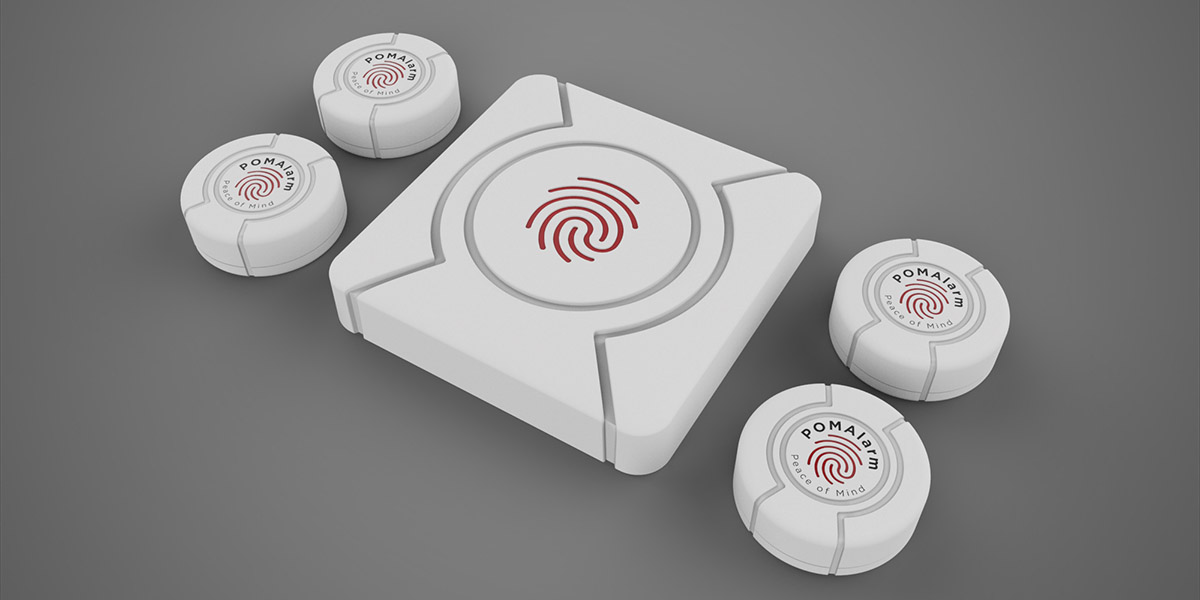 POM Alarm is a Smart Home Security Device