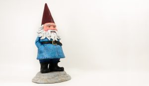 Travelocity Gnome with Custom Paint and Finishing