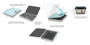 MyDelena Use Case Scenario Jewelry Travel Box