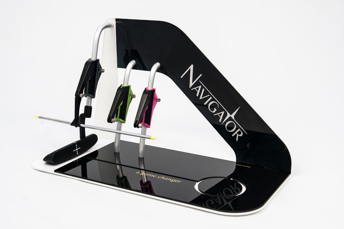 Navigator Putting Aid Custom Display for Trade Show