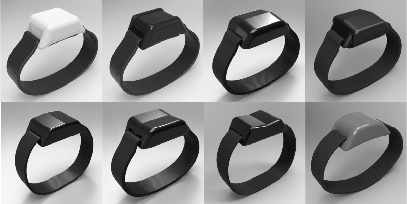 ReVibe Technologies Prototyping of Wristbands