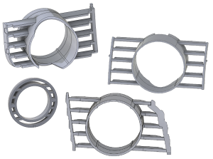 Aftermarket turbo mount CAD Designs