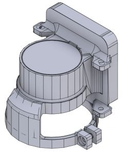NVG Recording Adaptor CAD Model