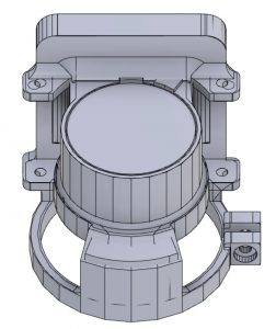 NVG Recording Adaptor CAD Model