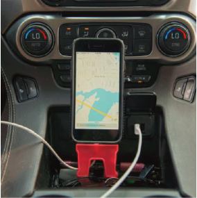 ChargeGuardz Charger Protector in the Car