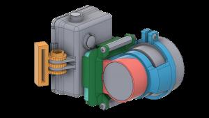 CAD Modeling of NVG Recording Adaptor