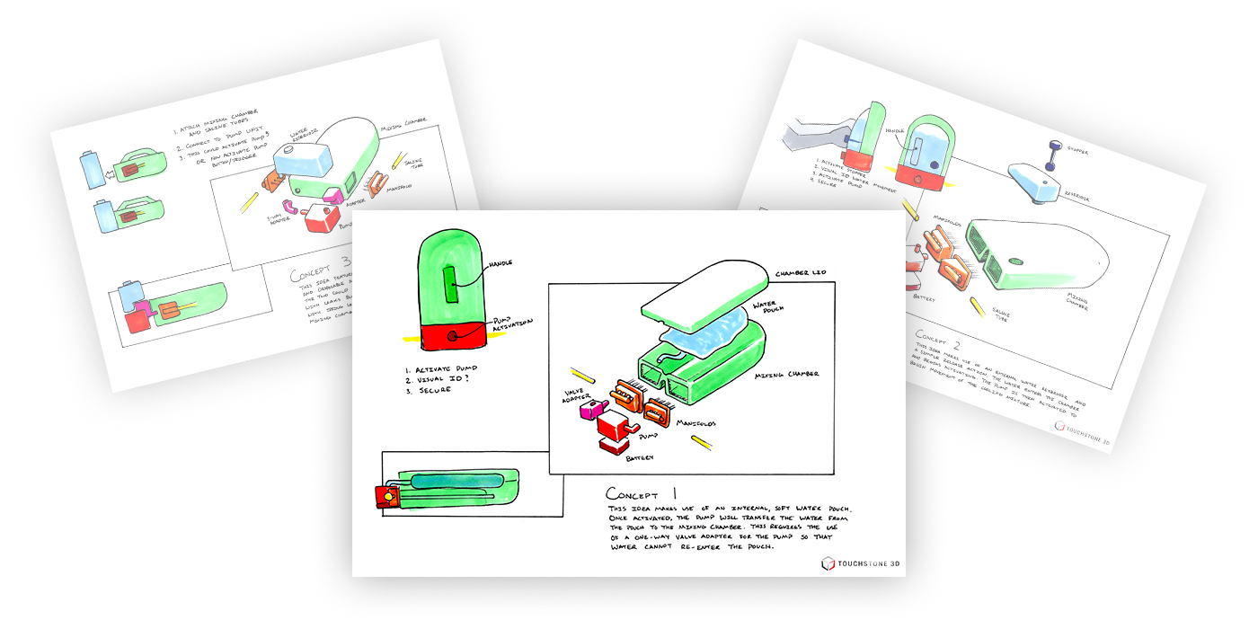 Hypocore Concept Drawings for BioMedical