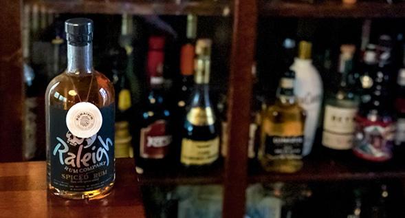 Smart Security System on a liquor bottle
