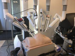 Kindheart Mannequin with da Vinci Surgical System