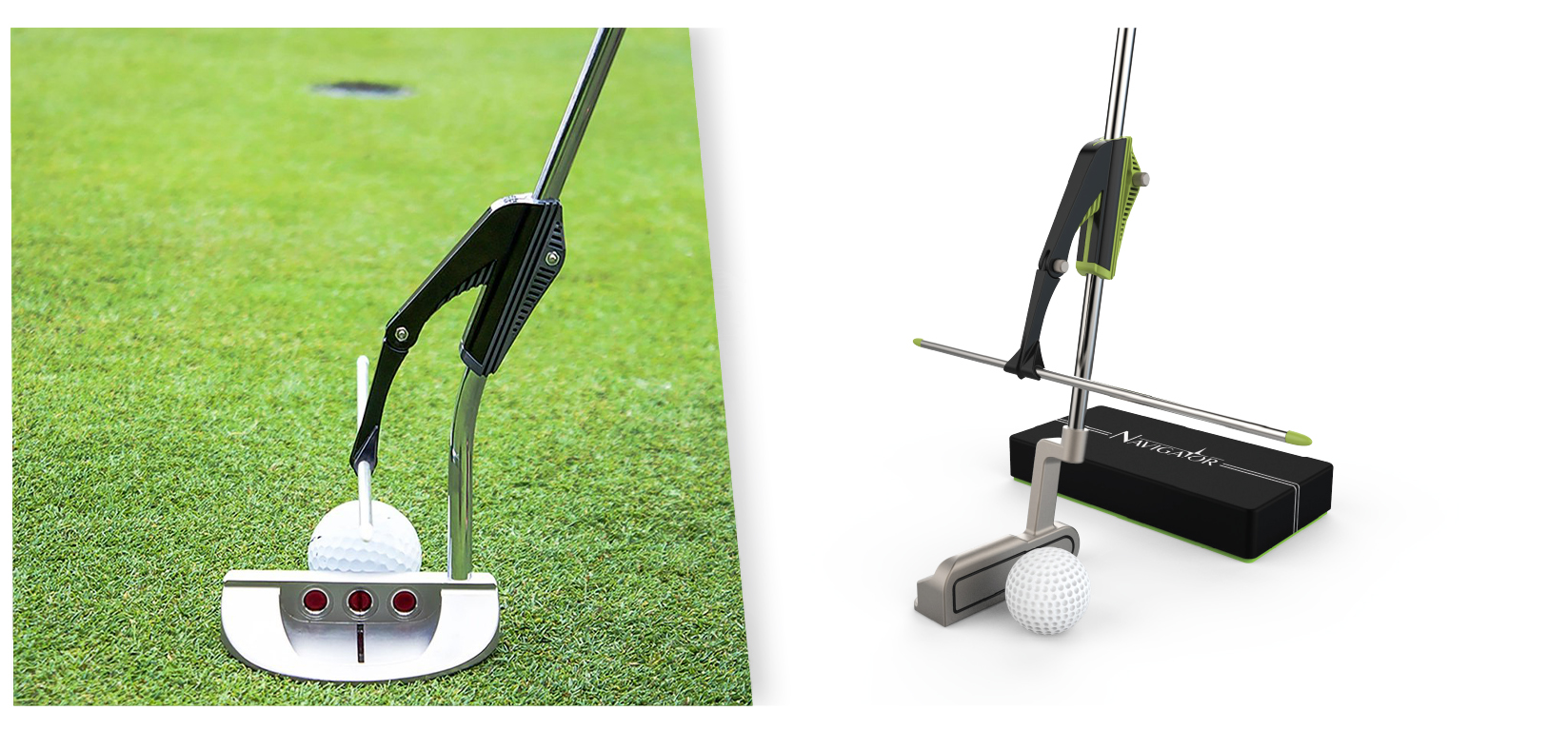 Dirty Larry Golf Putter Alignment Product