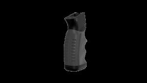 Overmolded, custom Pistol Grip