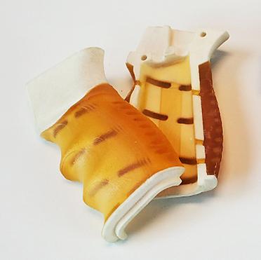 Pistol Grip using Powder-Based 3D Printing
