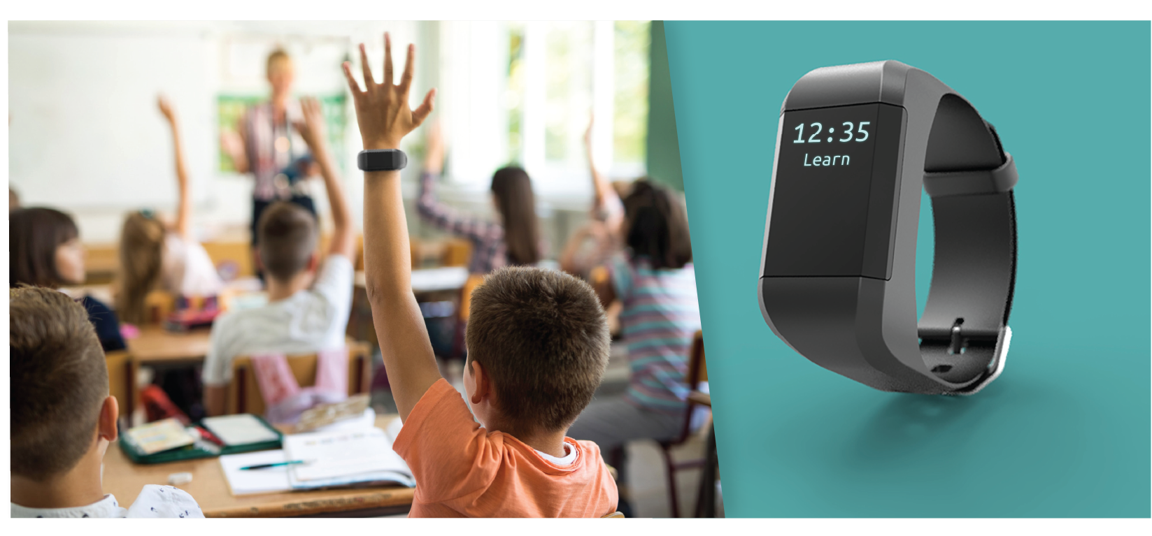 Revibe Connect Wearables in the classroom