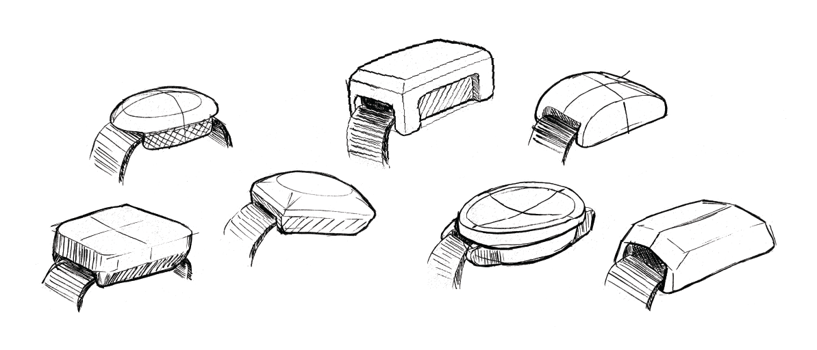 ReVibe Technologies sample sketches for watch