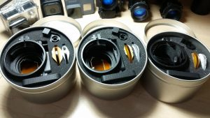 NVG Adaptor Packaging and Foam Cutouts