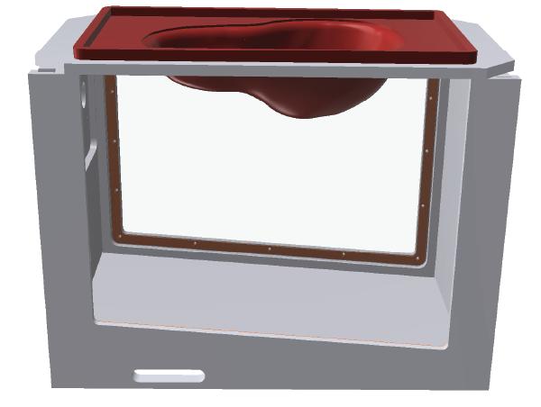 Pericardium Basin CAD Renderings