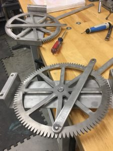 Flippin Grill Gear and Linkages Prototypes