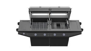 Luxury, Flippin Grill CAD Renderings