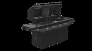 Luxury, Flippin Grill CAD Renderings