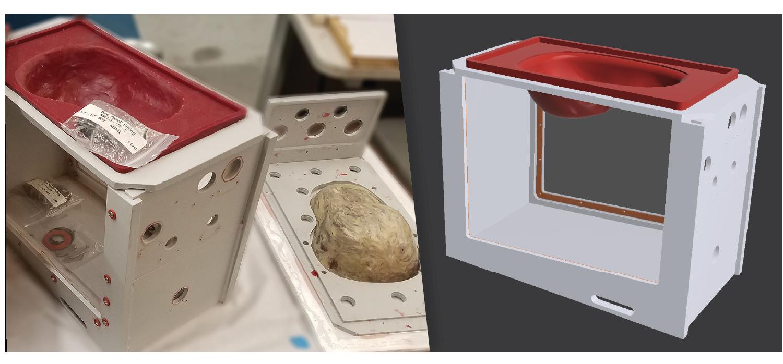 Pericardium Basin Prototype and Rendering
