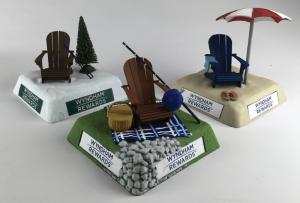 Wyndham Tee Marker Prototypes
