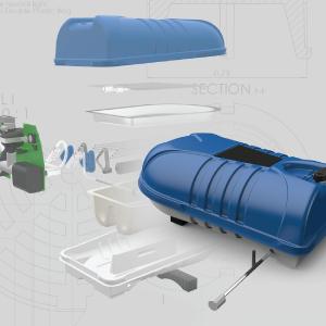 3D CAD Model Mechanical Engineering