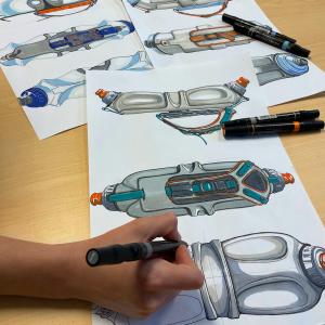 Sketching Industrial Design