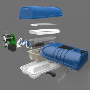 Hypocore. 3D CAD Model. Product Design